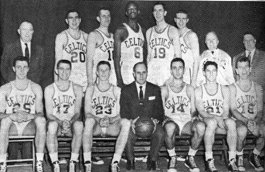 boston celtics 1956-1957 team