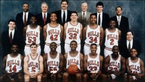 chicago bulls 1991 team