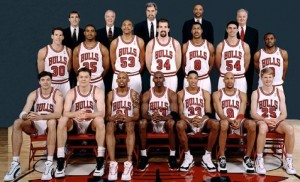 chicago bulls 1996 team