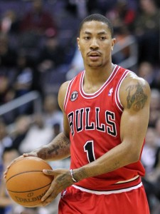 derrick rose in red road sets