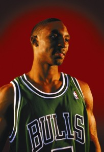 chicago bulls green week jersey