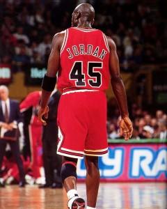 jordan wearing 45