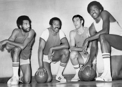 To r norm van lier g chet walker g jerry sloan g f and bob