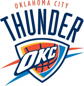 oklahoma city thunder present logo