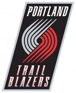 portland trail blazers present logo