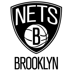 Present logo of the Brooklyn Nets