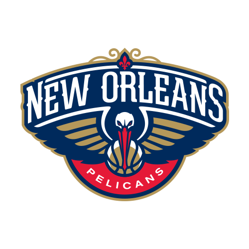 Present logo of the New Orleans Pelicans
